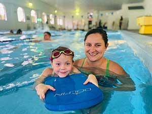 Aquatic Swim Lessons summer camps sports center